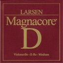 楽天ポジティブLarsen Magnacore ラーセンマグナコア チェロ弦 2D【DM便対応商品】【取り寄せ商品(3〜4日での発送)】