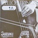 【旧パッケージ】【Suzuki】スズキ チェロ弦 1A 3/4サイズ