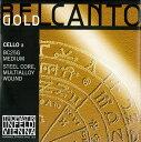 【メール便対応商品】Belcant Gold ベルカントゴールドチェロ弦 1A(BC25G)