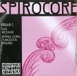 Spirocoreスピロコア チェロ弦 4Cタングステン巻(S33)