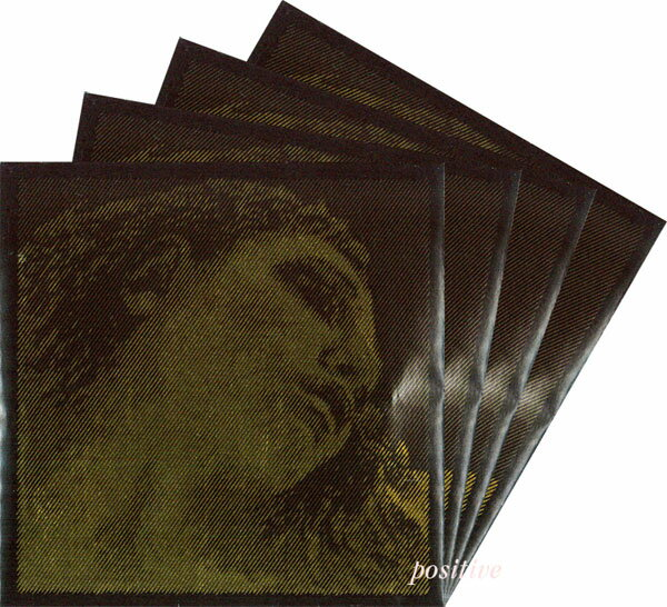 【Evah Pirazzi Gold】エヴァ ピラッツィ ゴールドバイオリン弦 セット(1E=3155/3154・4G=ゴールド巻)