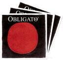 【Obligato】オブリガートバイオリン弦 2A、3D、4G セット 分数用