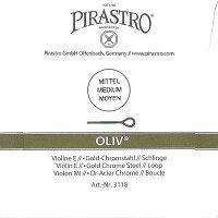【メール便対応商品】【Oliv】オリーブバイオリン弦セット