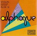 楽天ポジティブ【新商品】Alphayue アルファイユ バイオリン弦 4G 4/4〜1/8サイズ【DM便対応商品】