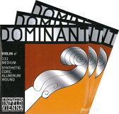 【あす楽対応・DM便不可】【Dominant】ドミナントバイオリン弦 2A、3D(シルバー巻)、4G セット 4/4サイズ
