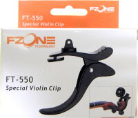 FZON(エフゾーン)バイオリン・マンドリン兼用チューナーFT-550【メール便不可】