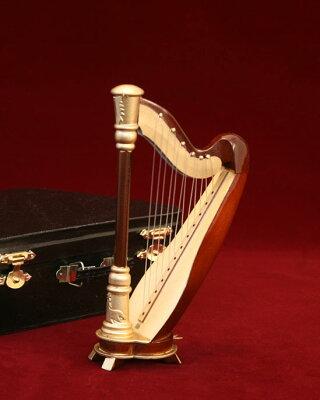 ハープ15cmミニチュア楽器¥3800以上のお買い上げで送料無料