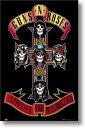 ガンズ アンド ローゼズ ポスター Guns N 039 Roses ジャケット柄