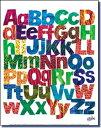 エリックカール (Eric Carle) ミニポスター Alphabets