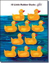 エリック・カール (Eric Carle) ミニポスター 10 Little Rubber Ducks