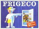 アートポスター 額付 『 FRIGECO 』 サヴィニャック