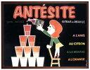 アートポスター 額付 『 ANTESITE 』