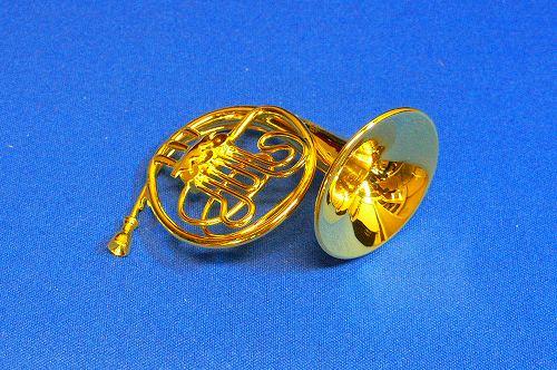 送料¥216〜1/12スケールミニチュア楽器フレンチホルン