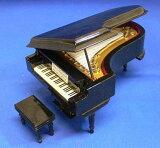 微型仪器18厘米的黑色钢琴m000109的订单超过¥ 3800[m000109グランドピアノ 18cm ブラック ミニチュア楽器¥3800以上のお買い上げで]
