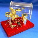 ドラムセット 1/18サイズ ミニチュア楽器
