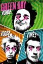 【送料¥290〜】 グリーン・デイ ポスター Green Day Trio