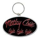【送料¥250〜】 【ロンドン直輸入オフィシャルグッズ】モトリー・クルー キーチェーン Motley Crue Keychain: Girls, Girls, Girls Lo..