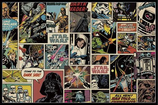 スター・ウォーズ ポスターフレームセット Star Wars (151021)