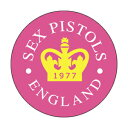 【USA直輸入オフィシャルグッズ】セックス・ピストルズ カンバッチ Sex Pistols 77 Crown  (150202)