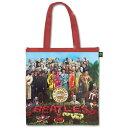 【ロンドン直輸入オフィシャルグッズ】ビートルズ エコバッグ(マチ付) The Beatles Eco Shopper: Sgt Pepper(150611)