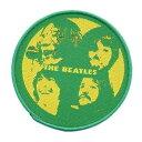 【送料¥216〜】 【ロンドン直輸入オフィシャルグッズ】ビートルズ ワッペン The Beatles Patch: Let it Be(160330)