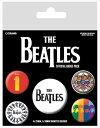 【送料¥216〜】 【ロンドン直輸入オフィシャルグッズ】ザ・ビートルズ カンバッチセット The Beatles (Black)