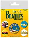 【送料¥216〜】 【ロンドン直輸入オフィシャルグッズ】ザ・ビートルズ カンバッチセット The Beatles (Yellow Subma...
