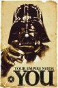 【送料¥290〜】 スターウォーズ ポスター STAR WARS Empire Needs You