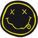【USA直輸入オフィシャルグッズ】ニルヴァーナ ワッペン Nirvana Smiley Face(150611)