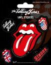 【ロンドン直輸入オフィシャルグッズ】ローリング・ストーンズ ステッカー Rolling Stones (Tongue)