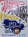 ヴィンテージ プロモーショナル ポスター ジミー・ペイジ ロバート・プラントJimmy Page & Robert Plant Unledded film on MTV (un LED ded)