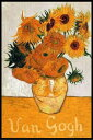 フィンセント・ファン・ゴッホ VAN GOGH sunflowers ヴィンセント ポスター フレームセット(110105)