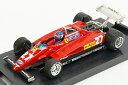 ブルム BRUMM 1/43 フェラーリ 126C2 1982年 イタリアGP 2位 #27 パトリック・タンベイ ドライバーフィギュア付(R287CH)