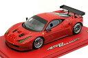 BBR 1/18 フェラーリ 458 イタリア GT2 GTE PRO ニューエンジン ロッソコルサ322 【限定10台】(P1853DV)