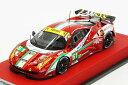 BBR 1/43 フェラーリ 458 イタリア GT2 GTE PRO 2013年 ル・マン24時間耐久レース AFコルサ#51 Fisichella/Bruni/Malucelli 【限定20台】(BBRC122PRE)