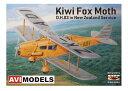 AVIモデル 1/72 デ・ハビランド D.H.83 フォックス・モス 「ニュージーランド仕様」 スケールプラモデル AVI72007