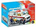 Playmobil プレイモービル 救急車 Rescue A...