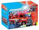 Playmobil プレイモービル レスキューはしご車 消防...