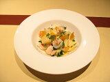 24cmイタリアンホワイト スープ& パスタ皿