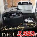 【ボストンバッグ系】ボストンバッグ WOSS/ウォズ PV2段式ボストンバック WBB-07X   ・ ゴルフ パワーゴルフ
