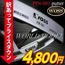 パター【訳あり価格】WOSS/ウォズワールドモデルPIN-001パターピン型パター【ゴルフ用品】|スポーツ・アウトドアゴルフパワーゴルフpowergolf通販アウトレット価格