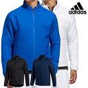 【30%OFF!】アディダスゴルフ 2020年秋冬モデル INS96 メンズ スポーツキルティング長袖フルジップジャケット(FS6957)ブラック adidas golf 【20】