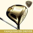 【数量限定】【ゴールド仕上げ】maruman-マルマン- MAJESTY-マジェスティ- VANQUISH-XR DRIVER バンキッシュ XR ドライバー(W1)【VANQUISH-XRカーボンシャフト】【ゴルフクラブ】マルマンゴルフ マルマンゴルフクラブ メンズ 男性用 /Majesty