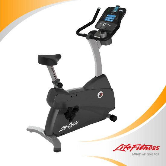 ライフサイクル アップライトバイク・Uplight BikeC3 TRACK+コンソール[サイクルトレーニング][ランニング][ウォーキング][サイクリング][大腿筋トレーニング][エクササイズ] ライフフィットネス【Life Fitness】家庭用にカスタマイズされたアップライトバイク世界トップブランドでメタボ予防!