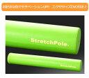 【エクササイズDVD付正規品】人気!LPN製 ストレッチポール EX(Stretch Pole EX)カラー:ライトグリーン[体幹トレーニング][エクササイズポ...