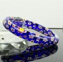 ベネチアンガラスブレスレット 腕輪バングル ベネチアンガラス...