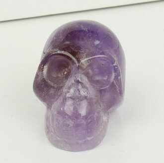 紫水晶頭骨紫色水晶紫水晶紫水晶 [雕塑的頭骨,頭骨骷髏骨架雕像粗糙] 紫水晶 ★ 石頭骨紫水晶天然石頭骨紫水晶 05P03Dec16