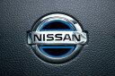 JDM ヒートカラーデコシート ステアリングエンブレム ブルー NISSAN デイズルークス 14.2〜 B21A [JHC-N001BL]