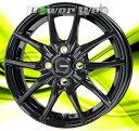 ホイールのみ単品4本セット HOT STUFF / G.speed G02 (MBK) 14インチ×5.5J PCD:100 穴数:4 インセット:45