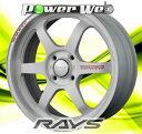 [ホイール1本(単品)] RAYS / VOLK RACING TE37 KCR REDOT EDITION (WR) 16インチ×6.5J PCD:100 穴数:4 インセット:46